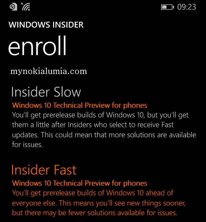 Download & Install Windows Phone 10 Insider Preview | My Nokia Lumia | mynokialumia.com