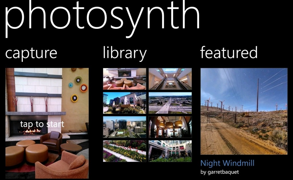 Mobile Software Download - Photosynth