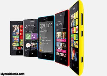 Nokia Lumia -520 -colrs
