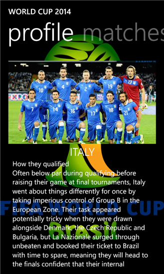 World Cup 2014 +