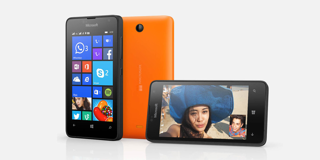 Microsoft Nokia Lumia 430 Premium Reviews and Specifications