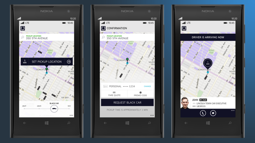 #5 in Our Mobile Phone Software List - Uber (Free)