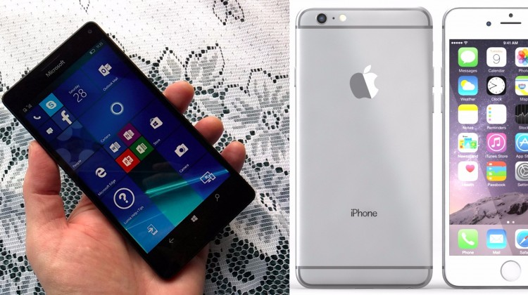 Latest Lumia Phone vs Latest iPhone - The Battle Between the Titans of Microsoft and Apple