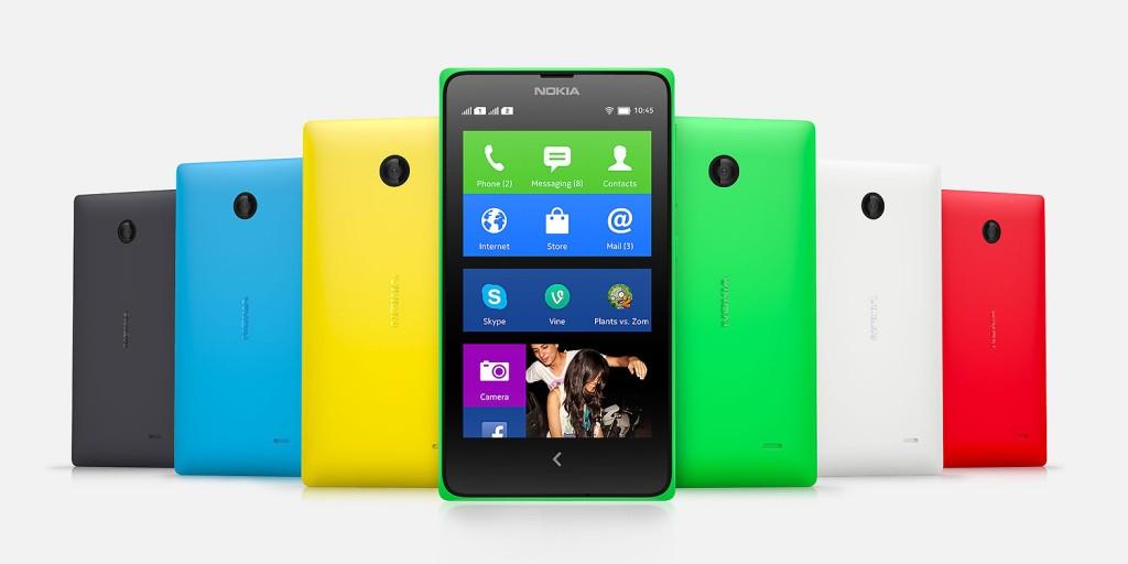 Nokia Dual SIM Smartphone Price - Nokia X Dual-SIM at $180