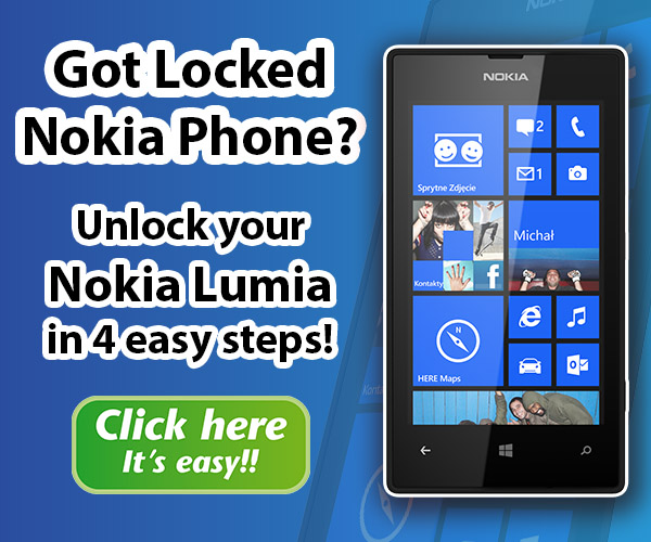 Unlock Your Nokia Lumia Phone in 4 easy steps!