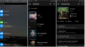 Nokia Lumia Apps Review - Groove Music with Millions of Songs