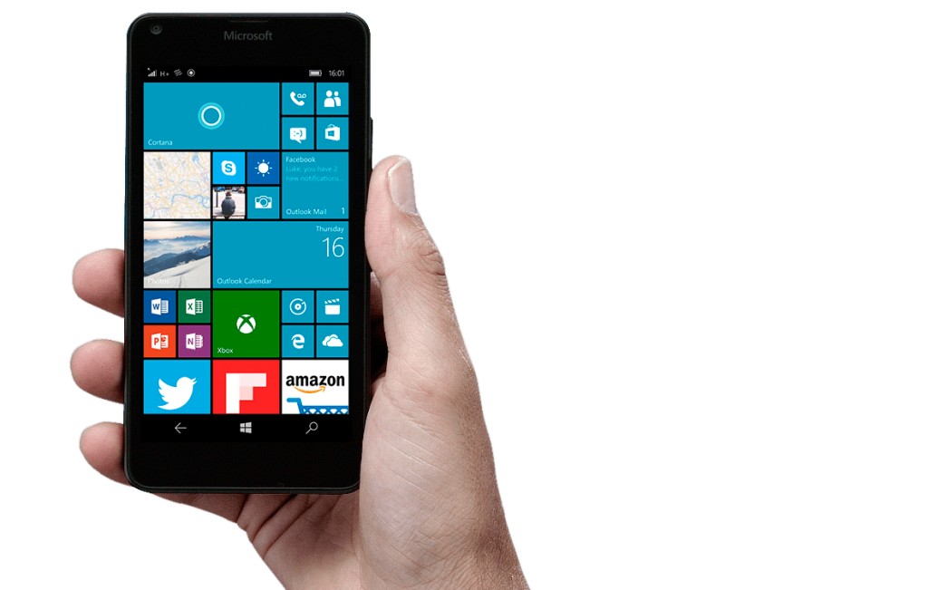 #2 in Our Microsoft Best Smartphone List - Lumia 950