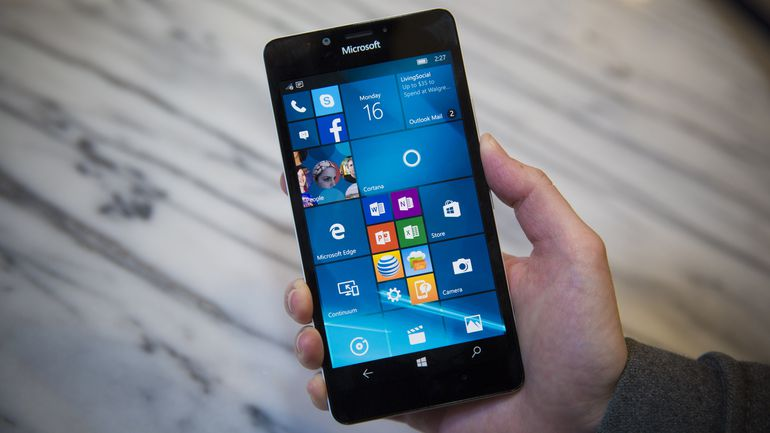 #2 in Our Best Nokia Lumia Phone List - Lumia 950