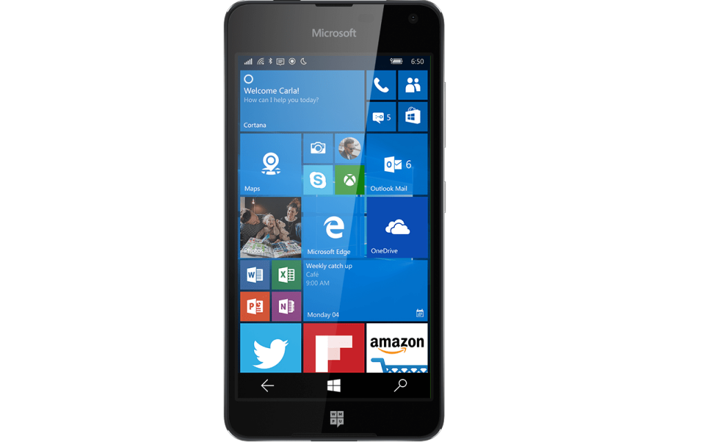 #3 in Our Best Lumia Phone List - Lumia 650