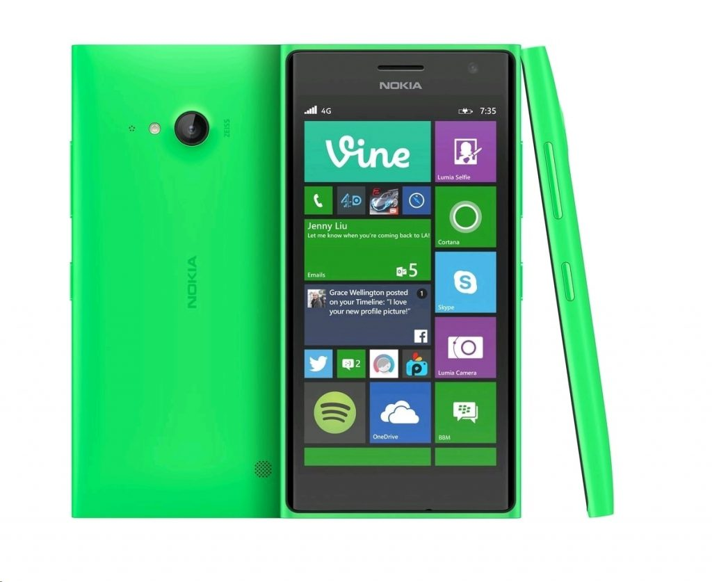 All Nokia Lumia Phones - Lumia 735