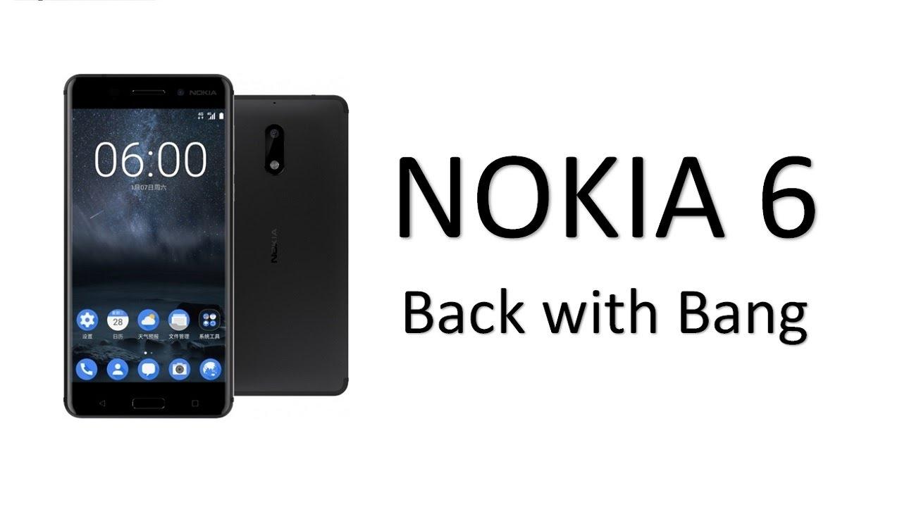 Nokia Lumia Latest News - New Nokia 6 being Released