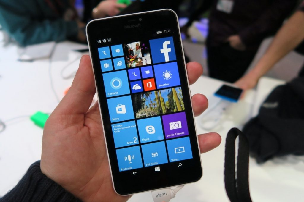 Nokia Lumia 640 - Display